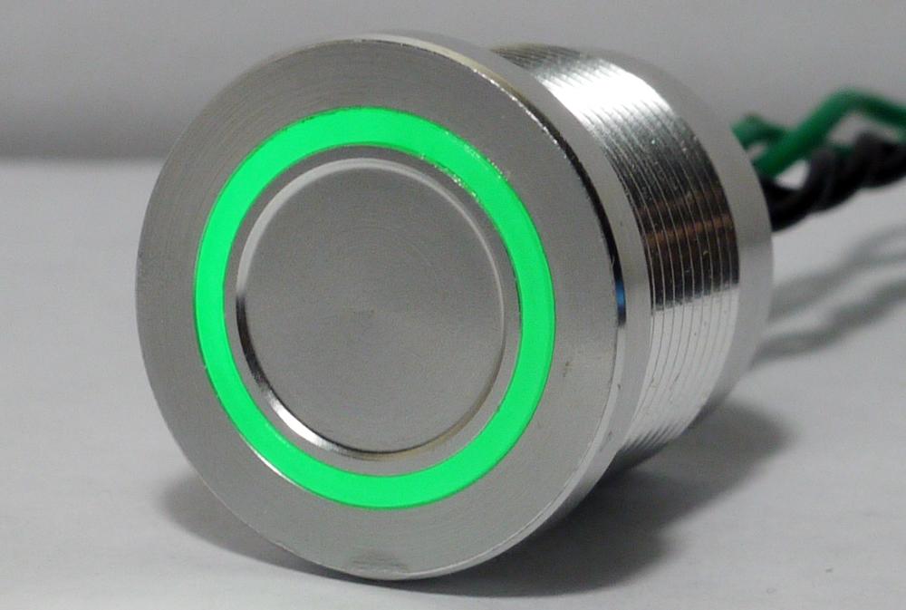 Custom Piezo Switches Anti Vandal Sealed Illuminated